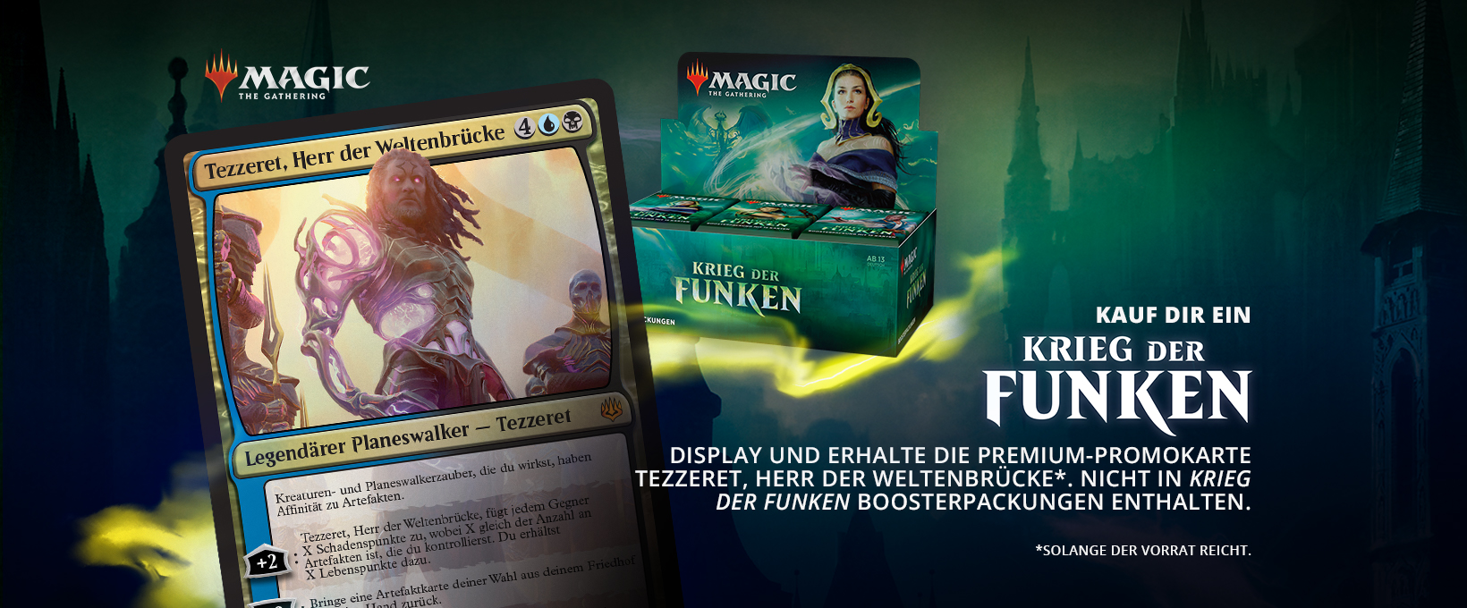 Magic the Gathering - PRERELEASE 1 - Krieg der Funken